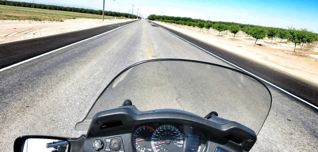 motorcycle california highway