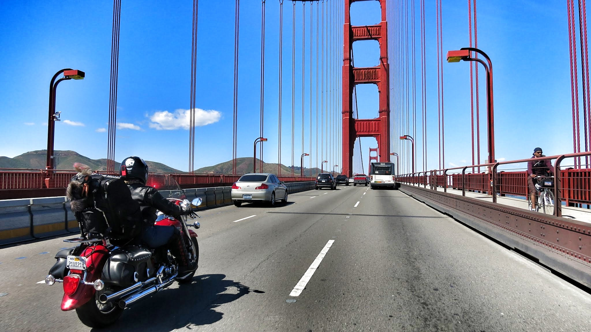 13 Motorcycle Golden Gate Bridge Road Pickle