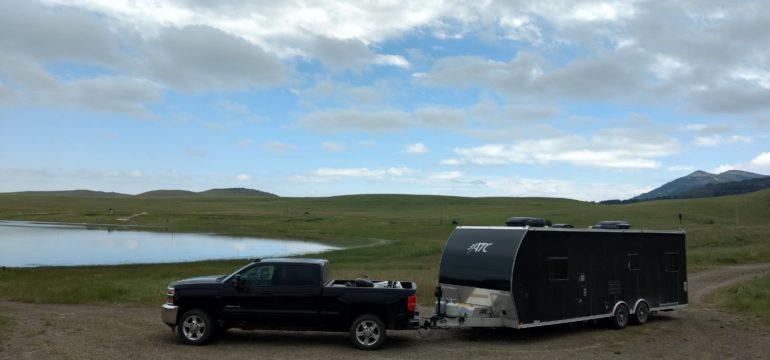 bean lake montana camping