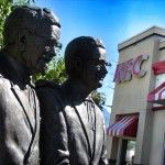 colonel sanders and pete harman