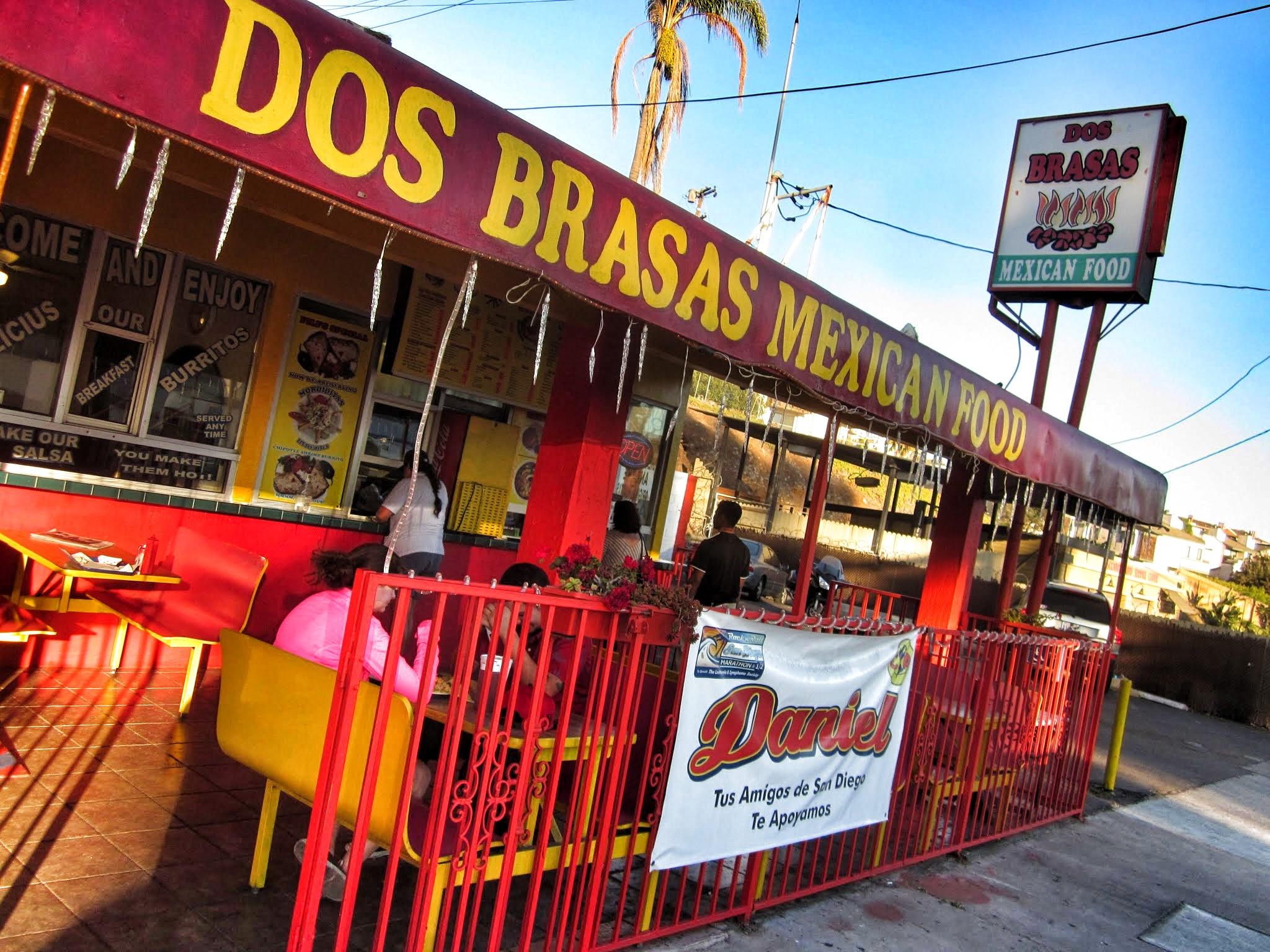 dos brasas mexican food san diego