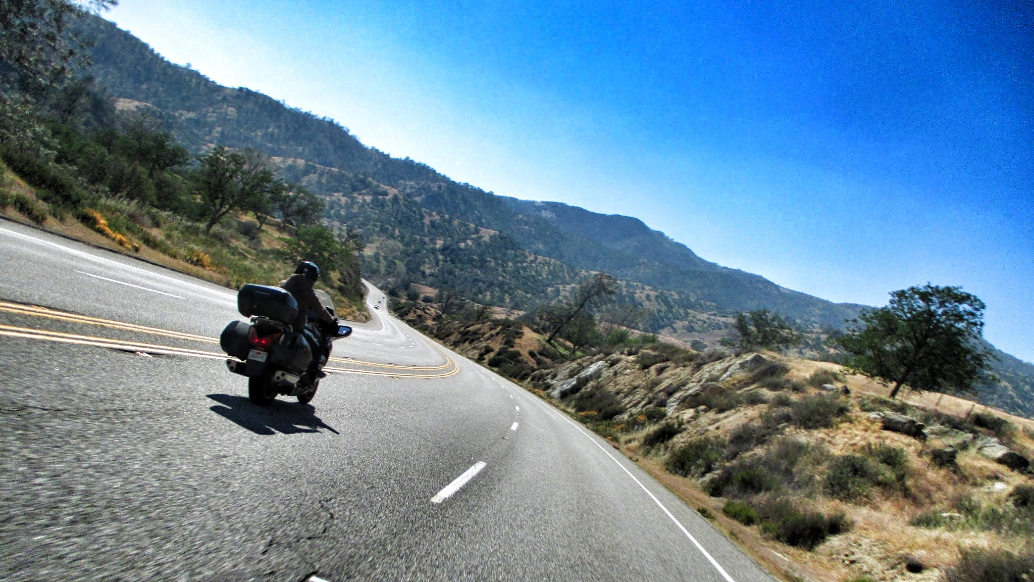 highway 178 on motorcycle