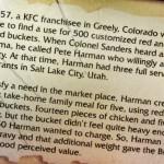 kfc bucket of chicken history