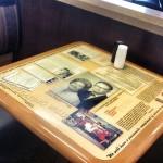 kfc table