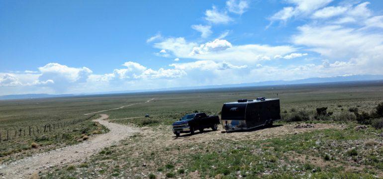 lake como road camping