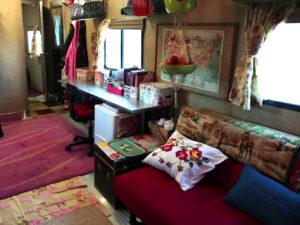 toy hauler floor with carpet