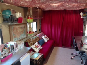 gypsy bohemian decorating for an RV