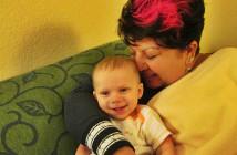 sash and grandson