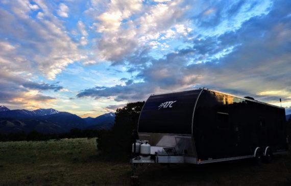 shavano wma free camping