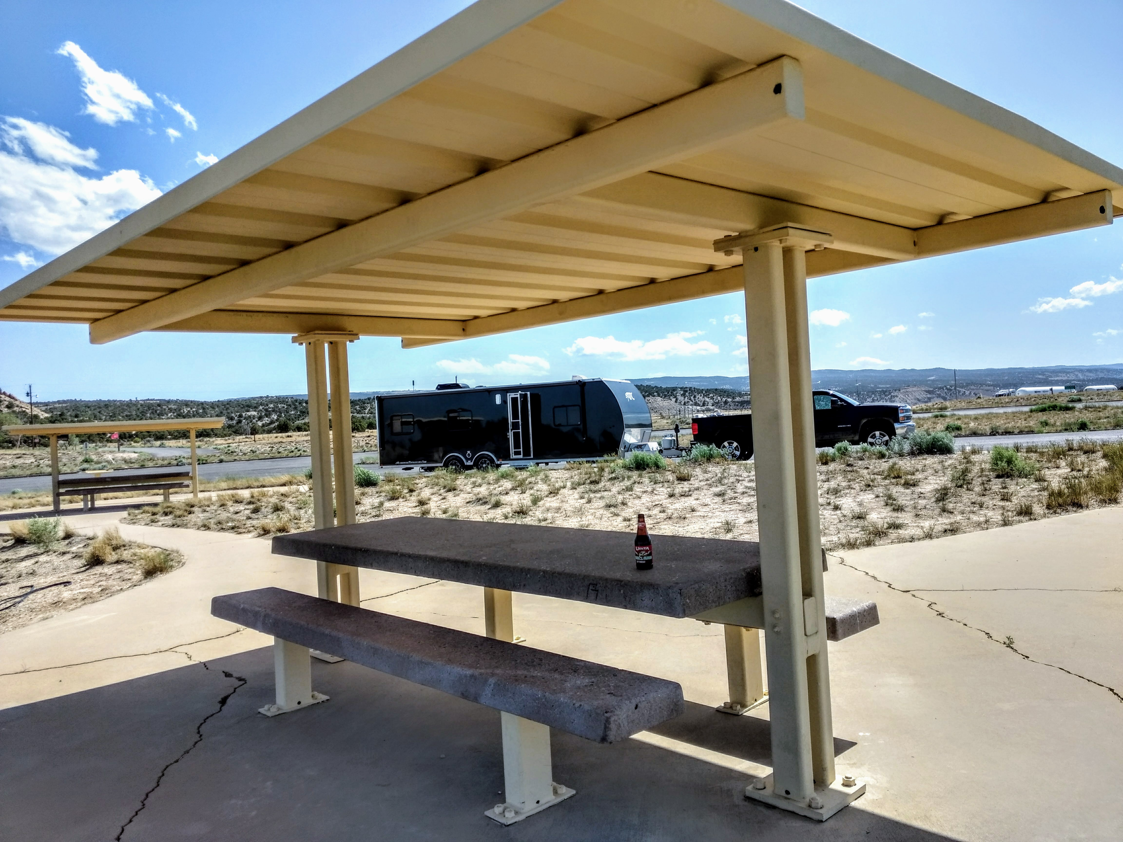 Free Overnight RV Parking - Starvation Reservoir View Area - Road Pickle